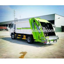 4x2 lecteur Dongfeng compresseur camion à ordures / compresseur garbage collection camion / ordures transport camion / ordures compacteur