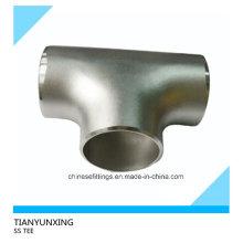 Asme B16.9 T de aço inoxidável sem costura