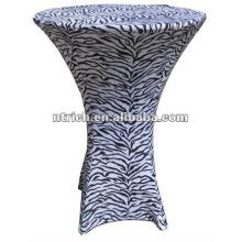 Zebra-Tischdecke, Animal print Tischdecke, TB70, Hochzeit, Bankett, Hotel Stuhl Abdeckung, Schärpe und Tabelle Tuch