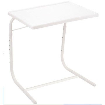 Adjustable Tray Table with Plastic Board