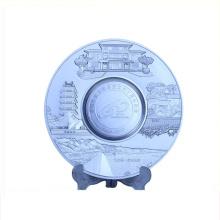 Collectible use high quality souvenir plate belgium souvenir