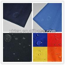 MOQ 1000 metros FR tela impermeable para la bata