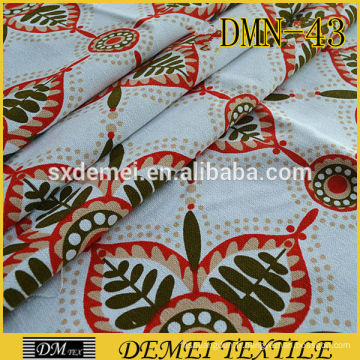 gros tissu textile poly coton toile tissu textile oreiller couvre