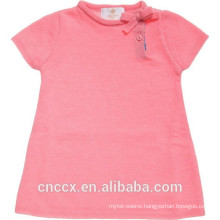 16STC1003 knit cashmere baby dress