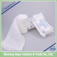 vendaje de gasa médica de algodón absorent krinkle