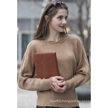 Women′s 100% Cashmere Sweater (1500002075)