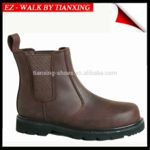 Темно-коричневый Высота хороший год РАНТА нубука кожаный ботинок безопасности с стальным носком