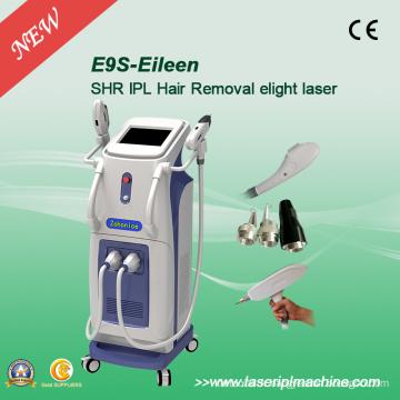 Multifonctionnelle IPL Elight ND YAG Machine à retirer les tatouages au laser