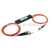 FTTH 1 * 2 diviseur multimode, répartiteur optique fibre optique ST, séparateur optique Mini type ST