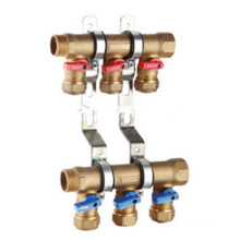 CW617n collecteur de vanne à bille en laiton / collecteur de chauffage HVAC / collecteur en laiton