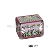 caja de reloj solo de aluminio anodizado