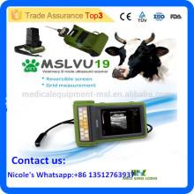 MSLVU19i Machine à ultrasons pour animaux Machine à ultrasons vétérinaire / scanner à ultrasons pour équipement d'ultrasons animal / animal