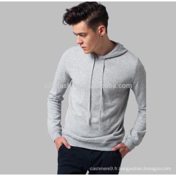 2017 chic pull à capuche en tricot de cachemire de sport pour les hommes