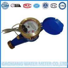 Messing-Material Trockene Puls-Wasser-Durchflussmesser (DN15-DN25)