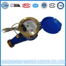 Brass Material Dry Type Pulse Water Flow Meters (DN15-DN25)