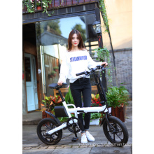 Customize color ebike 250w 36volt 16inch foldable frame electric bike with LCD display