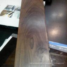 Suelos de madera maciza de nogal negro macizo