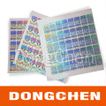 Made in China Good Quality Custom Your Style Strong Adhesive Hologram Sticker
