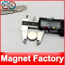 20 x 2 mm Neodym starke magnetische snap