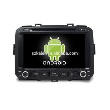 ¡Ocho nucleos! DVD de Android 7.1 para CARENS con pantalla capacitiva de 8 pulgadas / GPS / Mirror Link / DVR / TPMS / OBD2 / WIFI / 4G