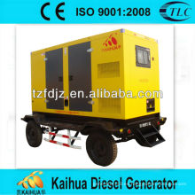 160kw Daewoo remolque tipo silencioso grupos electrógenos diesel