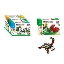 Brinquedo do bloco de construção do boutique para DIY Insect World-Ladybug