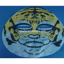 hoja de máscara de sueño animal