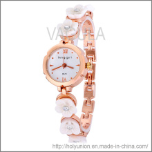 Bracelet de montre de mode VAGULA avec fleur (Hlb15671)