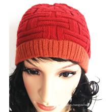 Пользовательские красивые ткать вышивать жаккардовые вязальные шапки
