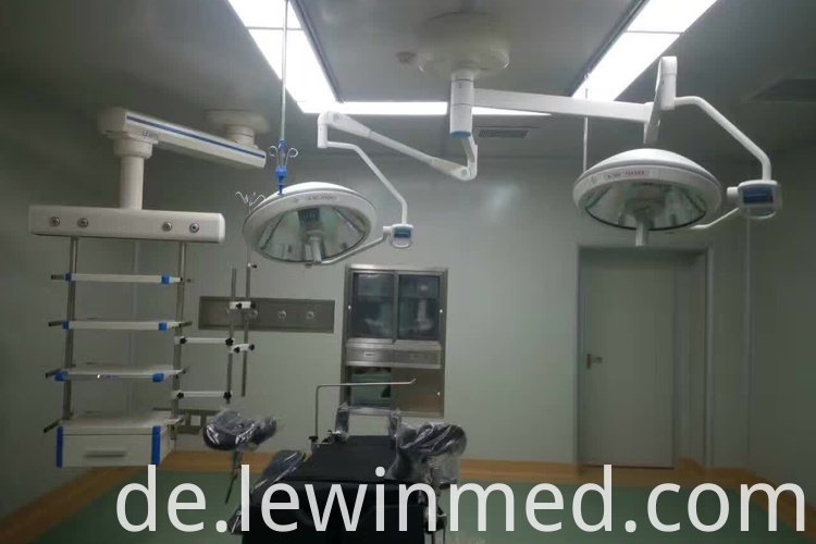 ceiling halogen operating lamp
