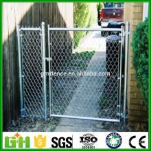 Portes de clôture en PVC revêtues de haute qualité