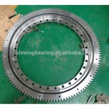 Anillo de giro de la sección delgada Rodamiento del cojinete del engranaje interno pequeño cojinete del rodamiento de bolitas
