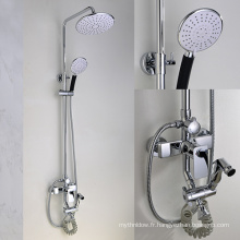 Robinetterie de douche de pluie de belle apparence, mitigeur de robinet de bain, douche de salle de bains