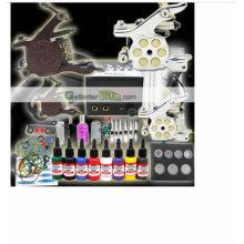 2014 profesional alto qulity más barato digital brillo tatuaje kit de tatuaje venta caliente