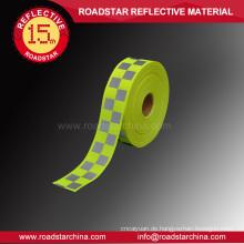 2 fluoreszierende Farben verfügbar Warnung Reflexfolie