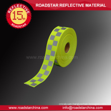 2 fluorescent colors available reflective warning tape