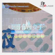 Прозрачная голографическая пленка для защитной упаковки