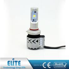 O bulbo 6000LM 6500K XHP50 do farol do diodo emissor de luz das peças da iluminação H10 G8 do automóvel escolhe o único feixe branco puro com garantia, CE ROHS