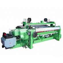 Middle speed rapier loom weaves silk fabric