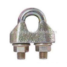 EN13411 Clip de câble métallique malléable pour la tenue