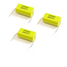 1UF/1500V Axial Metallized Polypropylene Film Capacitor Topmay