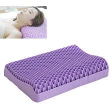 TPE purple neck pillow