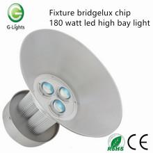 A microplaqueta 180w do bridgelux do dispositivo elétrico conduziu a luz alta da baía