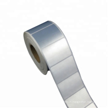 Matériau d'étiquette synthétique Imprimé vierge Étiquette PET en polyester anti-rayures