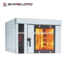 Shinelong High Quality Restaurant 4-Tray Electric Commercial Countertop Convection Oven