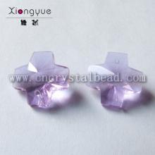 14mm 20mm Crystal Cross Color Bead