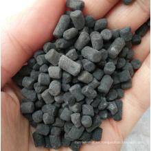Carbón activado columnar de azufre impregnado para eliminar mercurio (Hg)