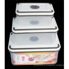 3PCS gesetztes Qualitäts-Plastikbehälter