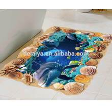 custom 3D PVC floor Sticker