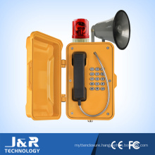 Outdoor Weatherproof Telephone, Vandal Resistant Intercom, Emergency Phone